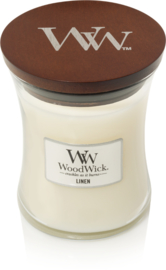Linen Medium Candle WoodWick®