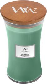 Sage & Myrrh Large Candle WoodWick®