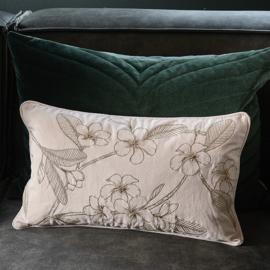 Enchanting Flower Pillow Cover 50x30