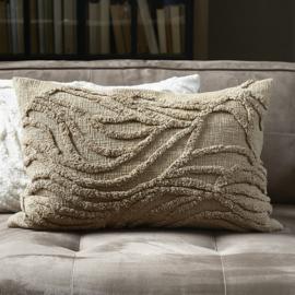Desert Wave Pillow Cover natural 45x65