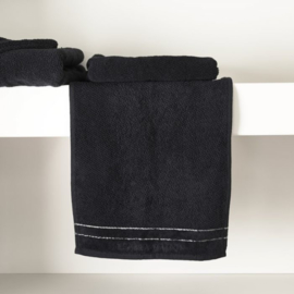 RM Elegant Guest Towel black 50x30