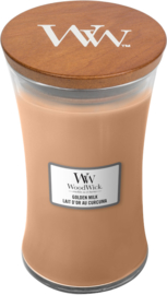 Golden Milk Large Candle WoodWick®