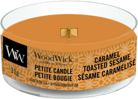 Caramel Toasted Sesame Petite Travel Candle WoodWick®