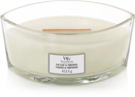 Fig Leaf & Tuberose Ellipse WoodWick® HearthWick Candle