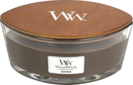 Oudwood Ellipse WoodWick® HeartWick Candle