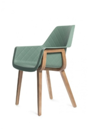 Amsterdam City Dining Armchair, soft green
