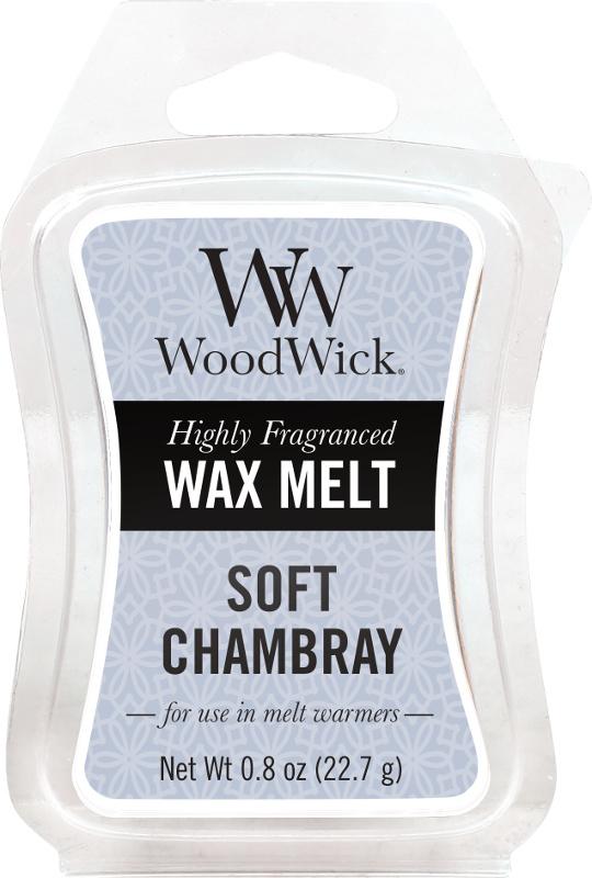 Soft Chambray Mini Wax Melt WoodWick®