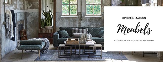 Alle meubels van Rivièra Maison zijn handgemaakt. Meubels waarmee u eindeloos kunt variëren en voor ieder interieur; mix & match!