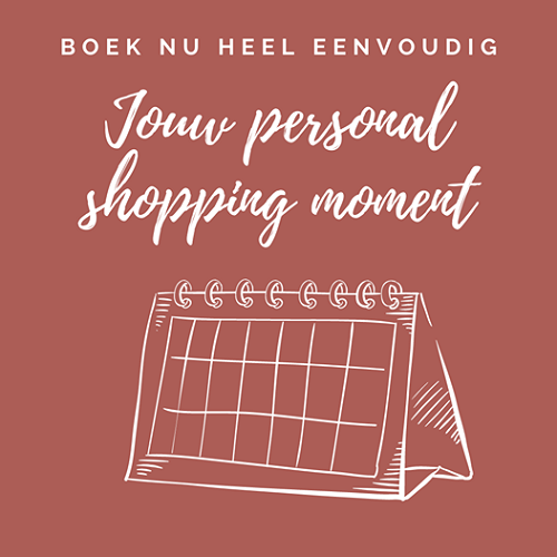 Boek hier jouw Personal Shopping Moment