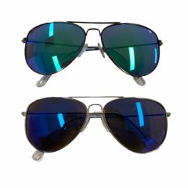 Metallic pilot sunglasses - kids