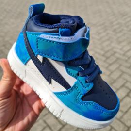 Blue lightning sneaker