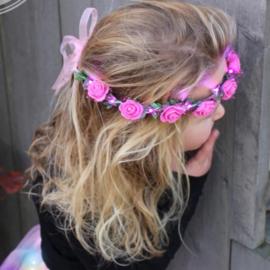 Roses headband led