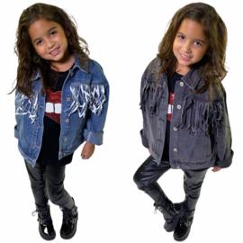 Fringe & Denim jacket