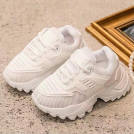 White Sporty sneaker - kids