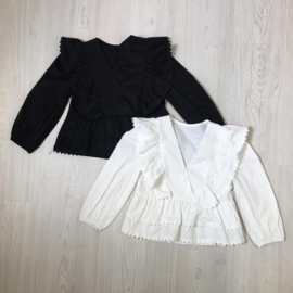 All over Ruffle blouse