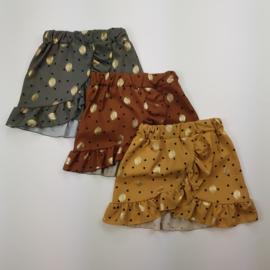 Golden dots skirt