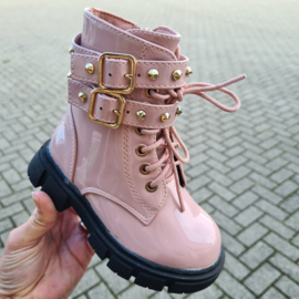 Pink & Buckled boots