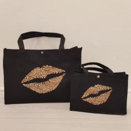 Leopard Kiss bag Set