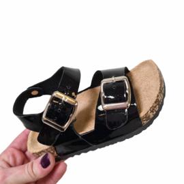 Not your basic sandals - Black