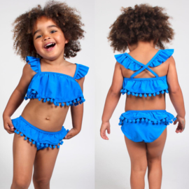 Pom pom & Ruffles bikini