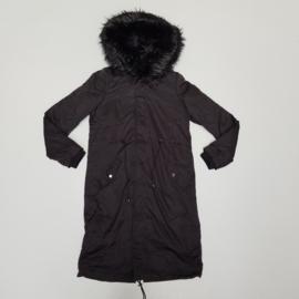 Long & furry jacket