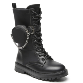 Bag & chain boots