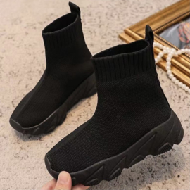 Comfy sneaker - all black
