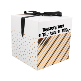 Mystery box 75,- twv 150,- (levertijd 2 werkdagen)