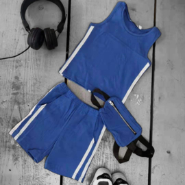 Basic & stripes summer set - blue