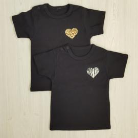 Printed heart shirt