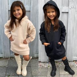 Hooded basic dress - 6 colors