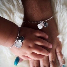 """Just the 2 of us"" (Losse armbandjes)"