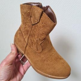 Camel cowboy boots