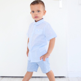 Buttoned boys blouse