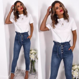 Button up jeans (mommy)