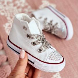 Lovely white sneakers