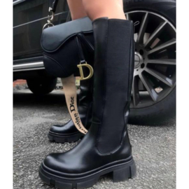 Ultimate black high boots