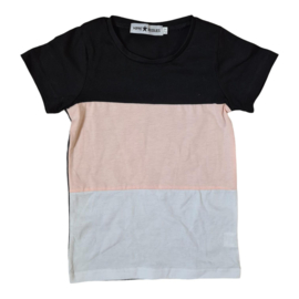 Color blocked tee