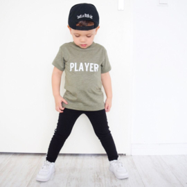Player. Shortsleeves