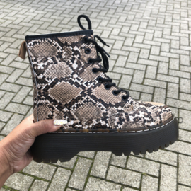 High snake boots