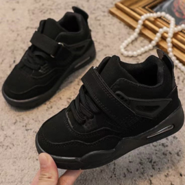 So cool sneakers - all black