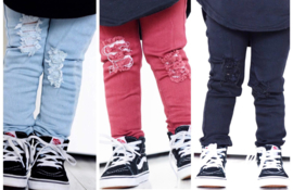 Distressed jeans (3 colors)