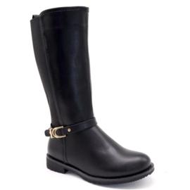 High black boots
