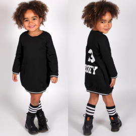 Black Baseball dress Longsleeves (gepersonaliseerd)