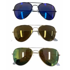 Color pilot sunglasses - kids