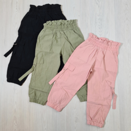 3 colors pocket pants