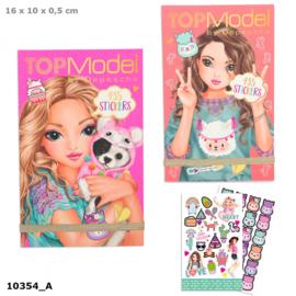 TOPModel stickerboek ALPACA