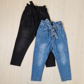 Basic buttoned jeans