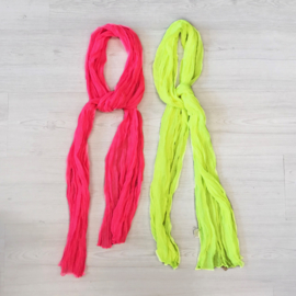 Basic neon scarf