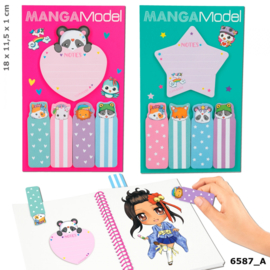 MANGAModel sticky notes